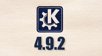 KDE 4.9.2