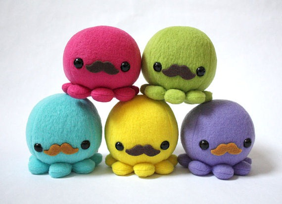 octopus plushies