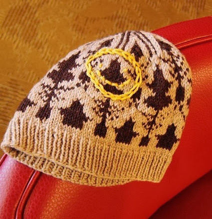 Sherlock Apt 221B Knit Beanie Tutorial by Sami Brooker on Knitty
