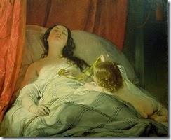 la-somnolienta-friedrich-von-amerling-1850