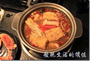 台南-逐鹿焊火燒肉。火鍋