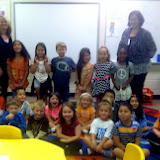 WBFJ Cici's Pizza Pledge - Hasty Elementary - Ms. Dawson's Kindergarten Class - Thomasville - 10-1-1