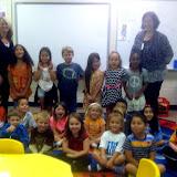 WBFJ Cici's Pizza Pledge - Hasty Elementary - Ms. Dawson's Kindergarten Class - Thomasville - 10-1-1