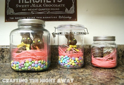 bunnies in a jar easter