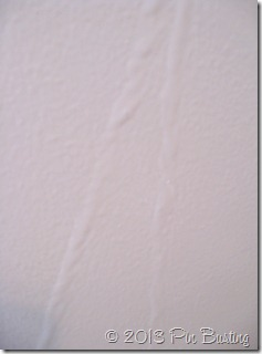 paint lines on wall