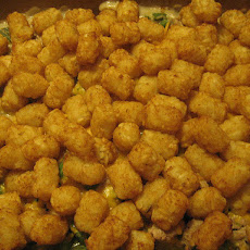 Chicken and Tater Tot Casserole - Healthier Version