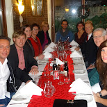 dinner time with the folks in Haarlem, Noord Holland, Netherlands