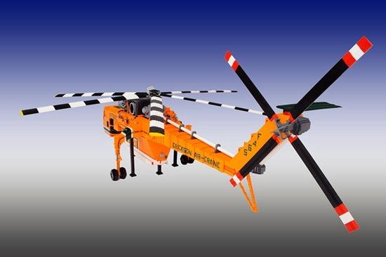 Helicóptero de Legos 08