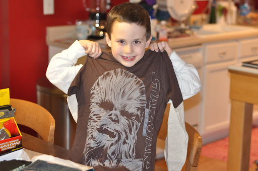 A shirt with Chewie