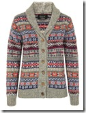 Howlin' by Morrison Pure Wool Fair Isle Cardigan
