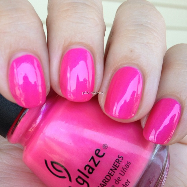 China Glaze Hang-Ten Toes (Summer Neons) 2