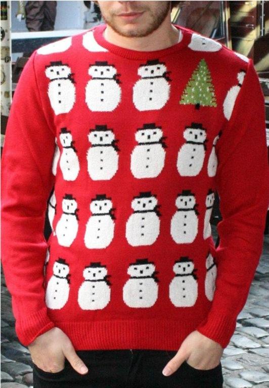 Kitsch Retro 89's Snowman Christmas Jumper, £26.99, Alternative London