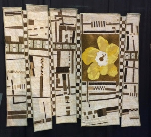 Yellow Primrose Quilt by Karen Grover