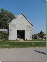 18.Corn crib visitor center