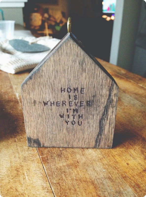 stamped wooden house ornaments (2)