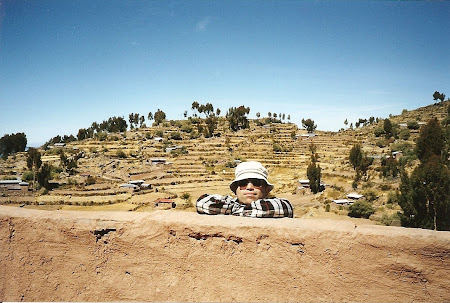 Things to do in Titicaca: Playing hide and seek