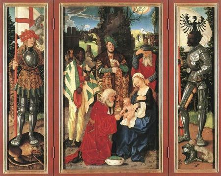Three Kings Altarpiece - Hans Baldun Grien (1507)