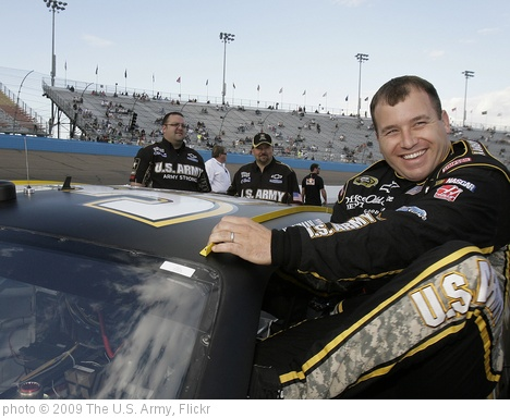 'Ryan Newman slips into the Army No. 39 Chevrolet Impala SS' photo (c) 2009, The U.S. Army - license: http://creativecommons.org/licenses/by/2.0/