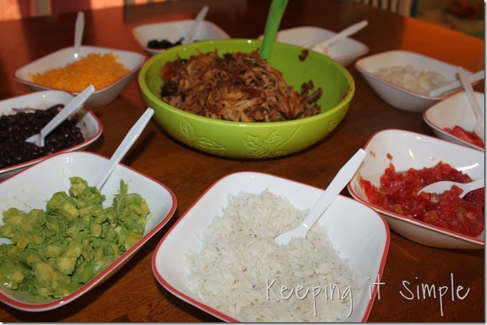 Crock Pot Pork Burritos #SuccessRice #ad (4)