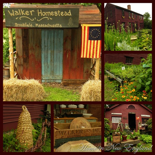 walker homestead collage