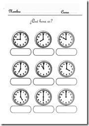 aprender la hora jugar 3