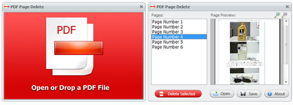 Comment supprimer une page d'un document PDF?