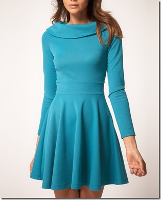 Skater Dress Long Sleeve