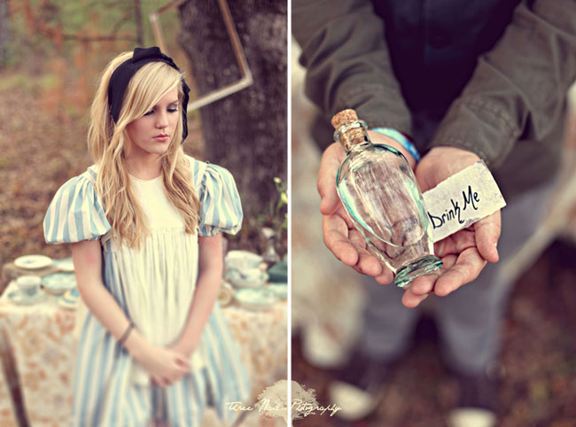 alice in wonderland bottle
