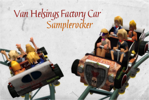 Van Helsings Factory Car (Samplerocker) lassoares-rct3