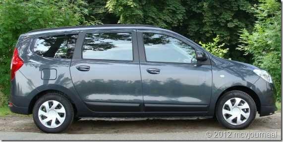 Proefrit Dacia Lodgy 04