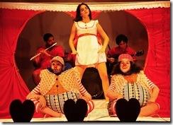 Historinhas de Dentro - cartaz da peça