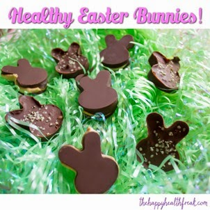 Healthy Chocolate Bunnies