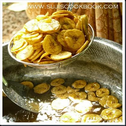 Banana chips/kaya varuthathu