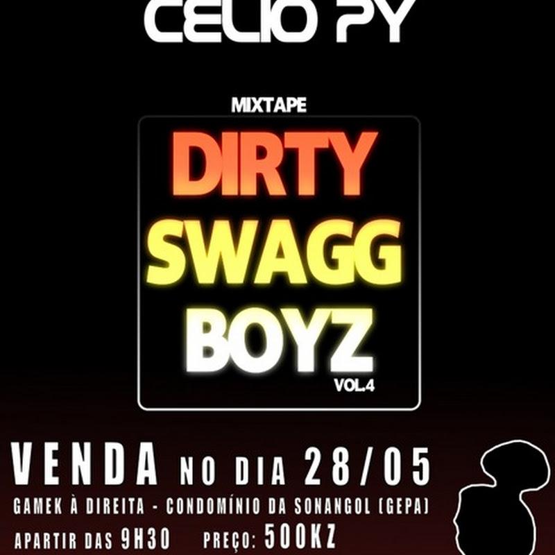 """Célio-Py – Mixtape """"DSB Vol.#4"""" [Dia 28 de Maio / Venda e Sessão de Autógrafos]"""