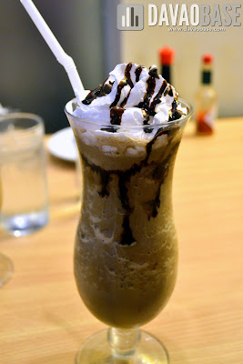 Mudslide Frappe at Cafe Demitasse