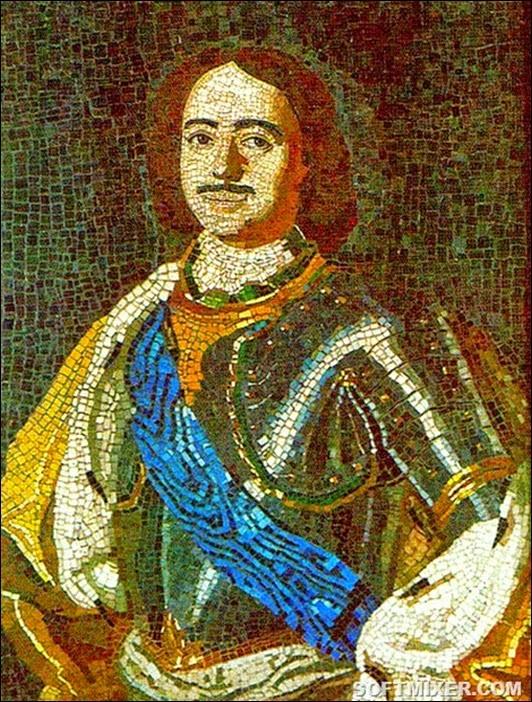 450px-Lomonosov_PeterI_mosaic_1754_thumb[5]