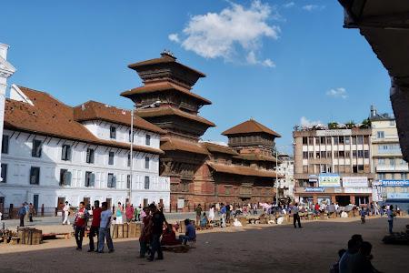Obiective turistice Nepal: Palatul regal Kathmandu