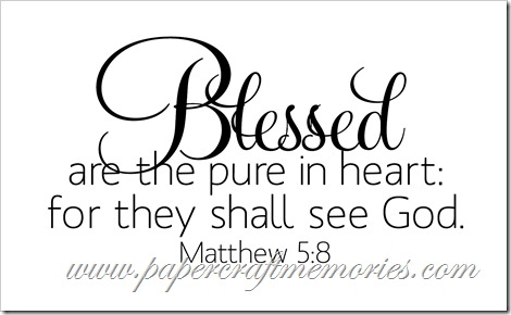 Matthew 5:8 WORDart by Karen for personal use