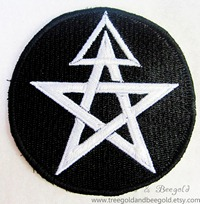 1st Degree Wiccan Initiate Pagan Sew on Patch
