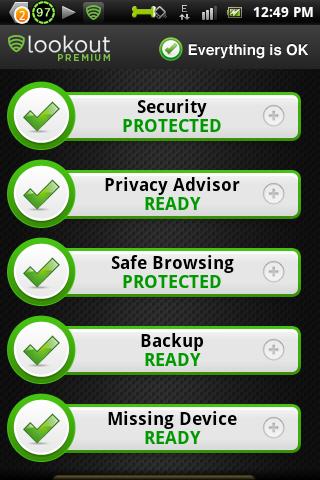 lookout mobile Antivirus apk terbaru