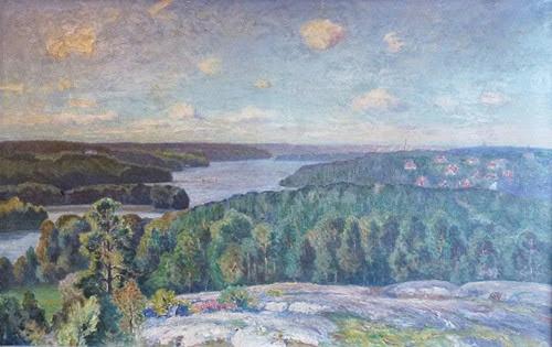 Anton_Genberg_Järlasjön_från_Vattentornsberget