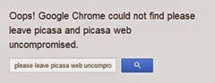 google weird link fail!