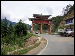 Thimpu Entrance gate