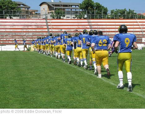 'Edgardo 'Eddie' Donovan #28 Pesaro Angels American Football 2008' photo (c) 2008, Eddie Donovan - license: http://creativecommons.org/licenses/by-nd/2.0/