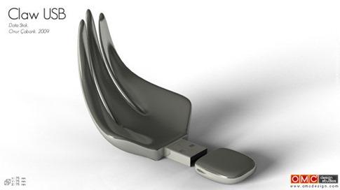 47. Garra de datos USB
