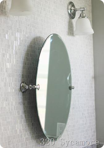 moen glenshire chrome mirror