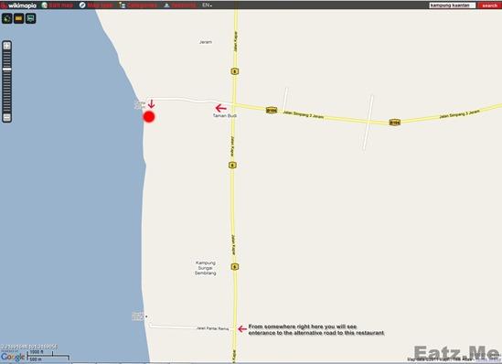 Restoran Aroma Ikan Bakar Map