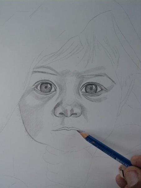 desenho de crianças a lápis 4