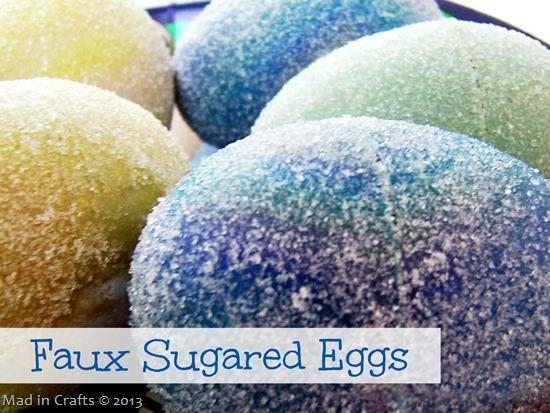 Искусственные сахаром яйца