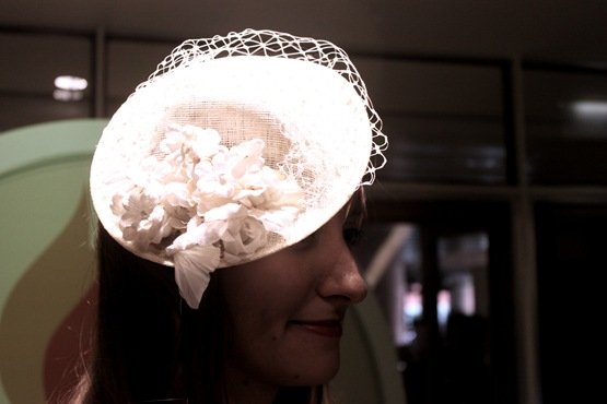 Inside the festival, the place was packed with different era-themed dance floors and bars, and in-between each level things got all kinds of crafty. We took a look at the ladies making 'fabulous fascinators' who all seemed to be making pretty top notch creations.